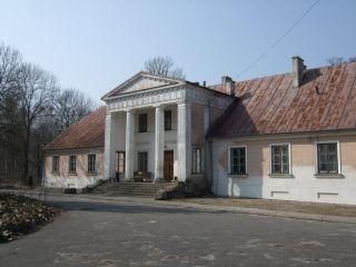 Zachert's manor house, Nakielnica, Aleksandrów Łódzki district