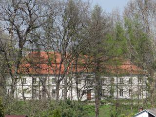 616158 małopolskie gm Słomniki Niedźwiedź pałac park 2