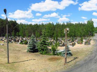 Cmentarz katolicki w Czarnej Wodzie - panorama