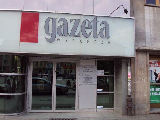 Wrocław - siedziba redakcji Gazety Wyborczej
