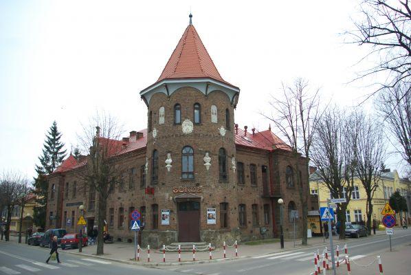 Sokół building in Brzozów 2014