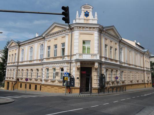 Przemyśl, budynek Sokoła przy ul. Konarskiego 9, widok od pd-zach.