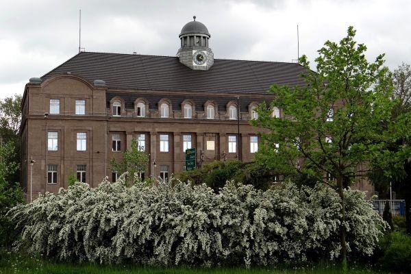 Budynek dyrekcyjny huty Donnersmarck w Zabrzu