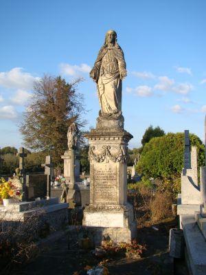Cmentarz parafialny w Obrazowie 1