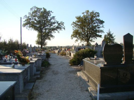 Cmentarz parafialny w Obrazowie
