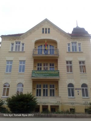 19 Armii Krajowej Street in Nysa, Poland