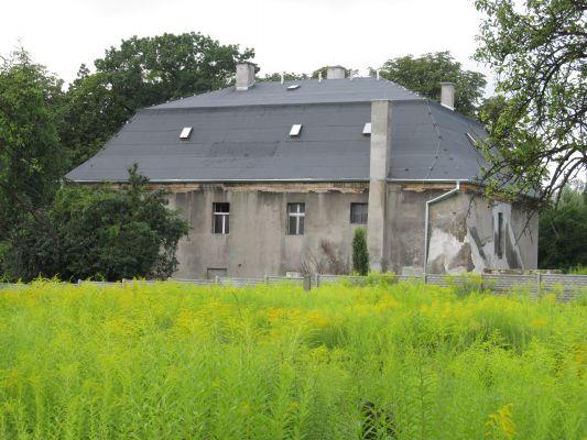 Gliwice, dawny dwór, ul. Dworska 10d, widok z tyłu (2)