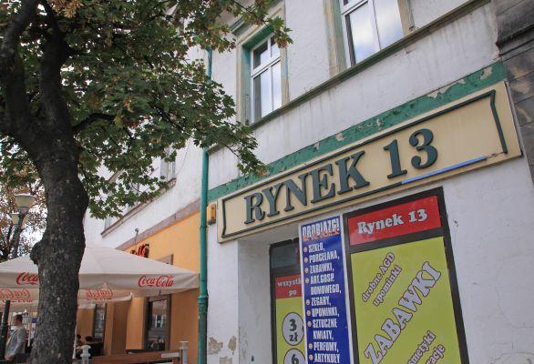 Dom pod numerem Rynek 13 w Tarnowskich Górach