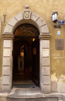 Kamienica Świętojańska 7 wejście