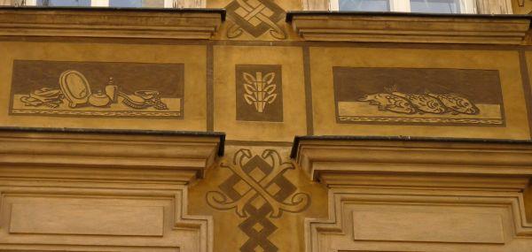 Kamienica Świętojańska 7 freski 2