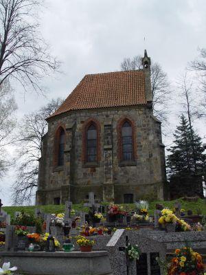Cmentarz parafialny z drogą dojazdową oraz kaplica grobowa Jastrzębskich w Dębnie 4