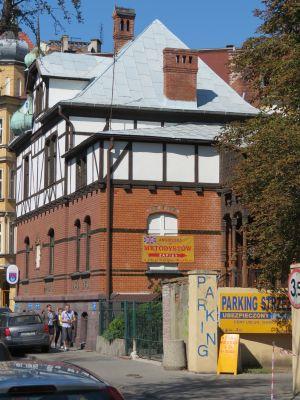 Gliwice, kościół ewangelicko-metodystyczny, widok od pd.