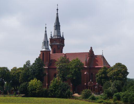 Kościół par. pw św. Jakuba Chełmica Duża