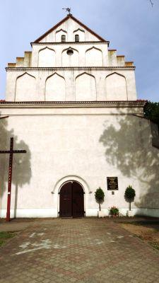 Kościół par. pw. św. Michała Archanioła, 1631 Kcynia, wejście główne (4)