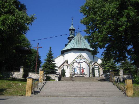 PL Niegowa St Nicholas' Church Back Stairs