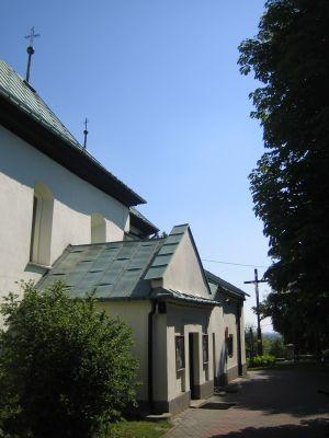PL Niegowa St Nicholas' Church Side Entrance