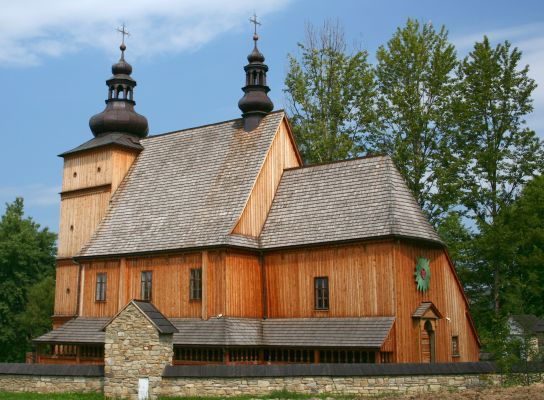 Znalezione obrazy dla zapytania Stary kościół z Łososiny Dolnej