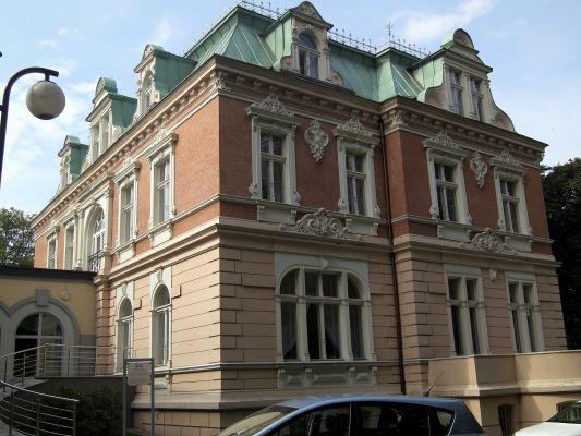 Częstochowa, pałac Hantkego 2