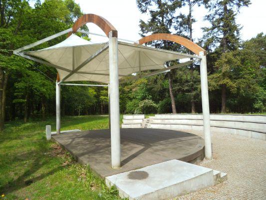 Mała architektura w Parku Miejskim w Toruniu
