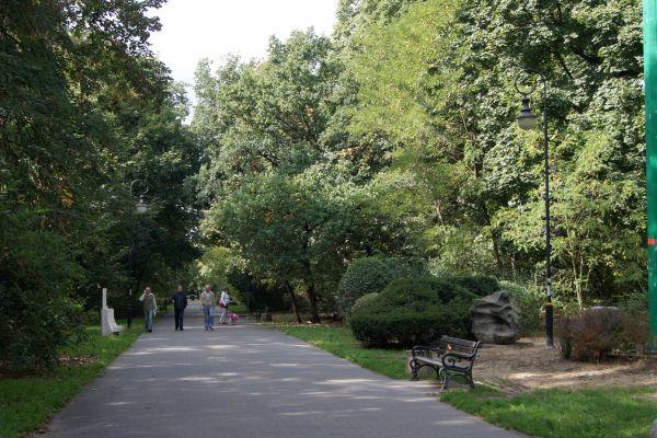 Toruń, park miejski, Bygdoskie Przedmieście 1