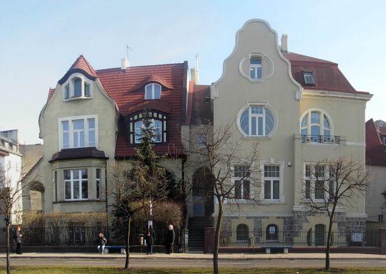 Mickiewicza 13 i 15 panorama
