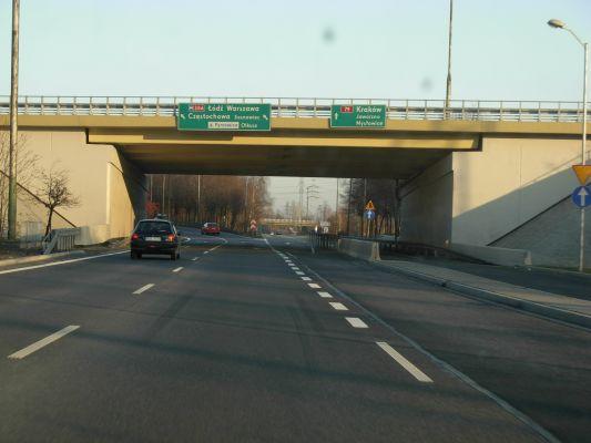 Street, bridge in Katowice 1