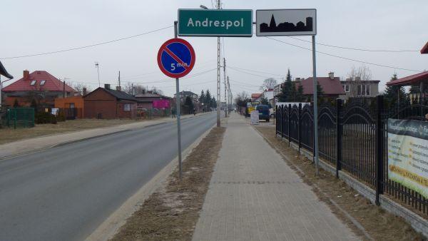 Andrespol - zabudowa wsi