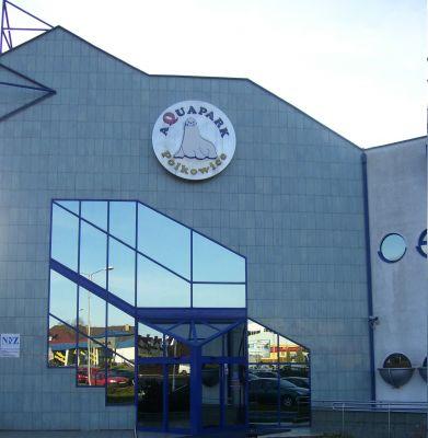 POL Polkowice, wejście do Aquaparku