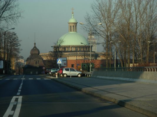 Dome of the Cathedral in Katowice