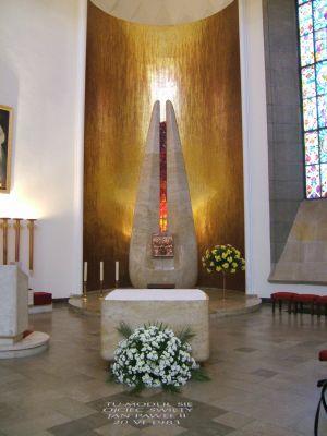 Ratzinger Mosaic Katowice