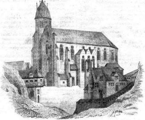 Dawny katedralny kościół gnieźnieński2