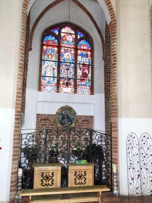 Szczecin Katedra Kaplica Judy Tadeusza