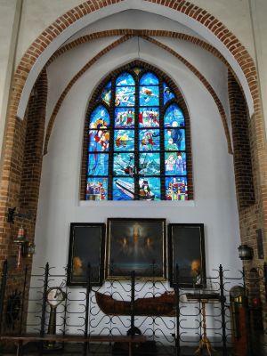 Szczecin Katedra Kaplica Ludzi Morza