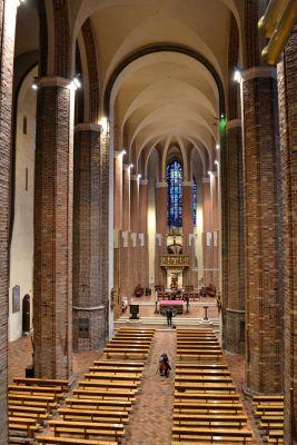 Szczecin katedra nawa