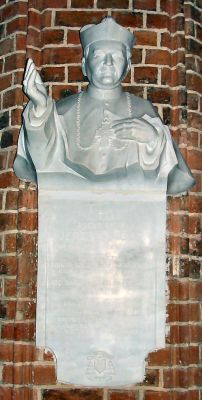 Szczecin katedra tablica 2