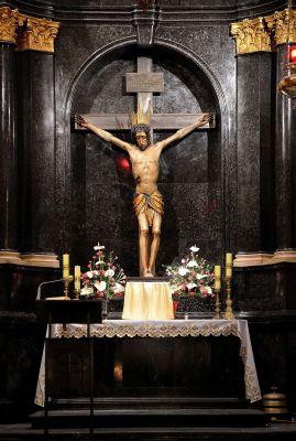 Krucyfiks Kaplica Baryczków katedra św. Jana 05