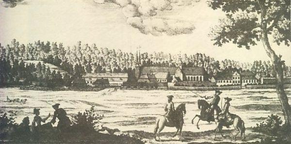 Oliwa panorama 1765