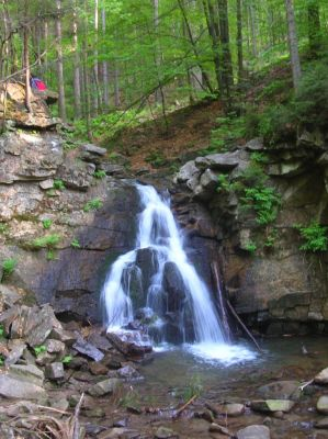Wodospad Wiselka Biala