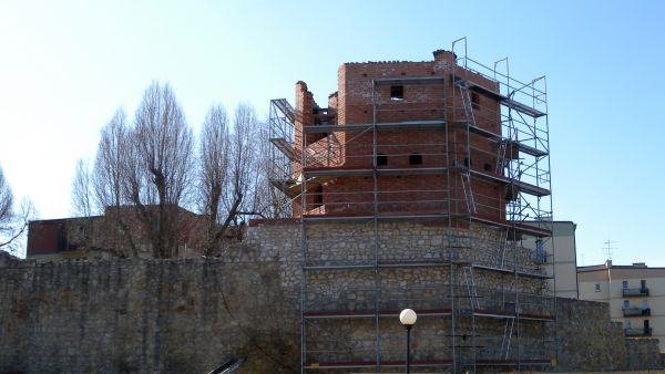 Wieluń, mury obronne, baszta Męczarnia