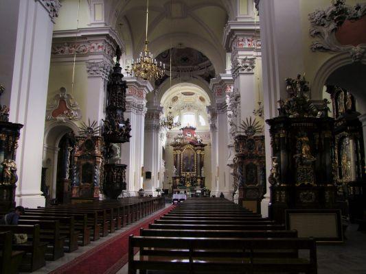 2008 08230064 - Leszno - kościół parafialny pw. św. Mikołaja - szczegóły wnętrza