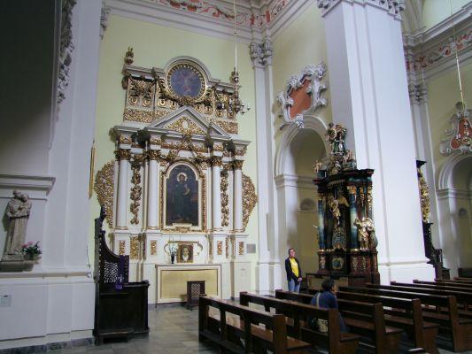 2008 08230065 - Leszno - kościół parafialny pw. św. Mikołaja - szczegóły wnętrza