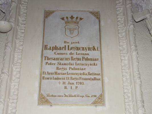 2008 08230073 - Leszno - kościół parafialny pw. św. Mikołaja - szczegóły wnętrza