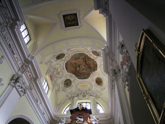 2008 08230090 - Leszno - kościół parafialny pw. św. Mikołaja - szczegóły wnętrza