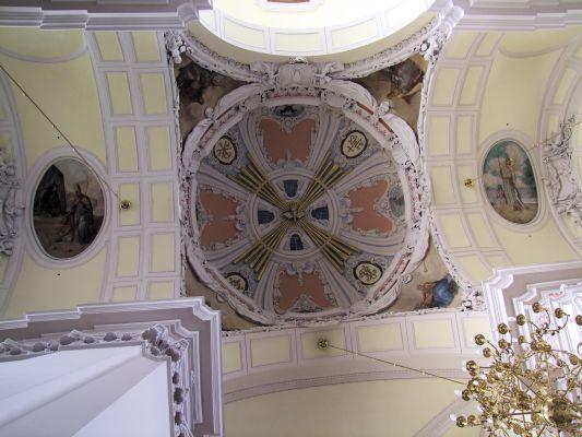 2008 08230086 - Leszno - kościół parafialny pw. św. Mikołaja - szczegóły wnętrza