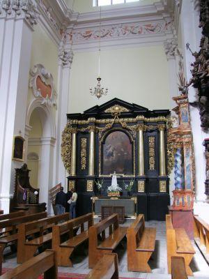 2008 08230093 - Leszno - kościół parafialny pw. św. Mikołaja - szczegóły wnętrza