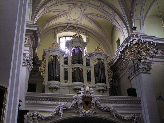 2008 08230094 - Leszno - kościół parafialny pw. św. Mikołaja - szczegóły wnętrza
