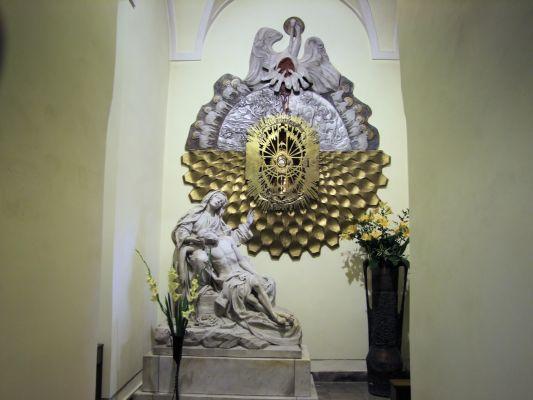 2008 08230097 - Leszno - kościół parafialny pw. św. Mikołaja - szczegóły wnętrza