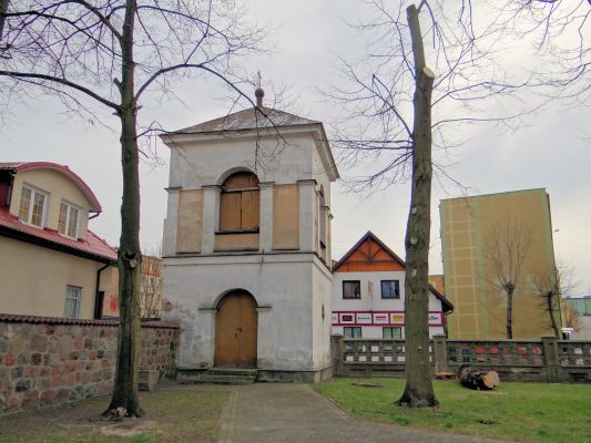 260312 Bell tower of the Saints Mary and Nicholas Basilica in Bielsk Podlaski - 01