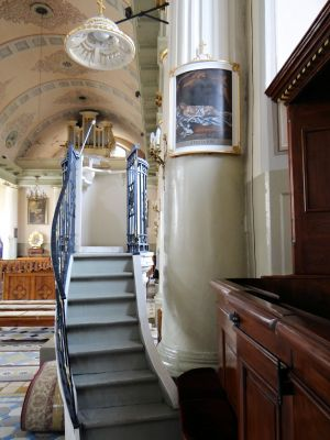 Pulpit of Basilica of the Nativity of St. Mary and St. Nicholas in Bielsk - 05