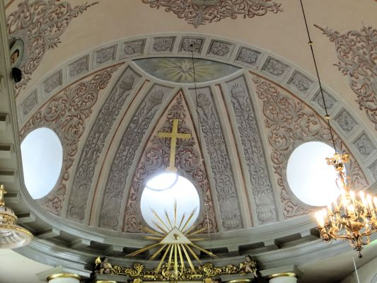 Vaulting in Basilica of the Nativity of St. Mary and St. Nicholas in Bielsk Podlaski - 03